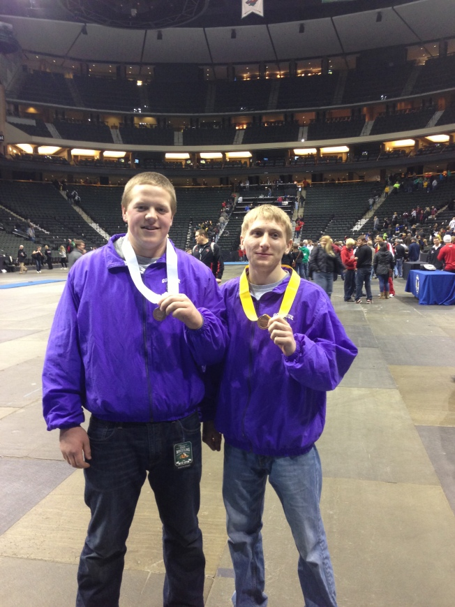 Ryan and Kyle are your 2013 State Medalists!