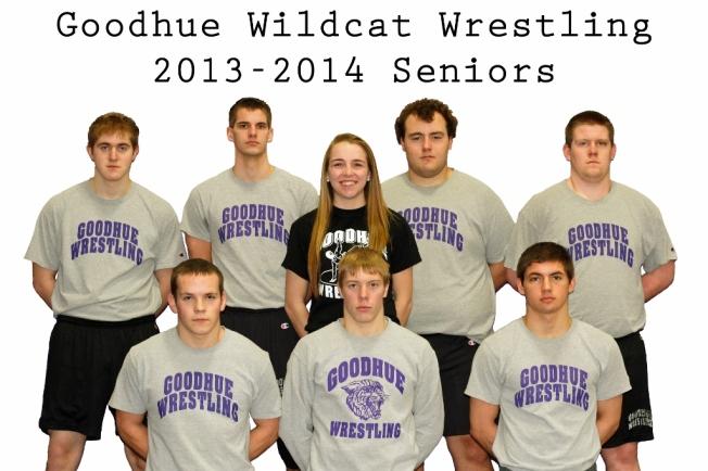 2013-2014 Wrestling Seniors
