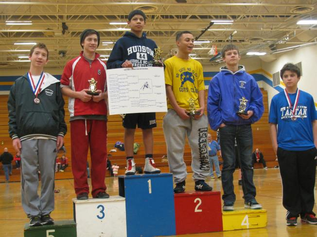 Bradyn Hinsch Hastings 4th Place