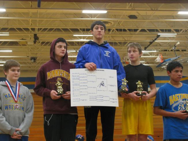Travis Gadient Hastings 1st Place
